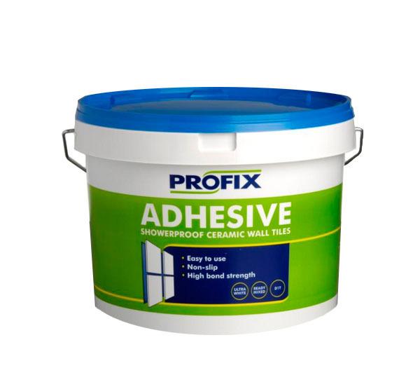 Bathroom Tile Adhesive And Grout: BAL Profix Showerproof Tile Adhesive