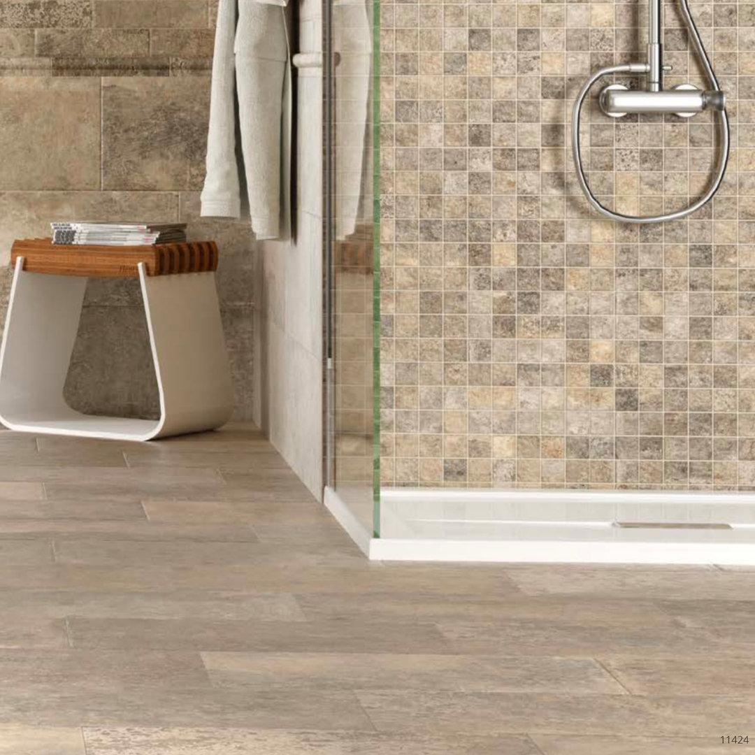 Petrastone Series Natural Effect Beige Porcelain Floor Tiles 900x450mm