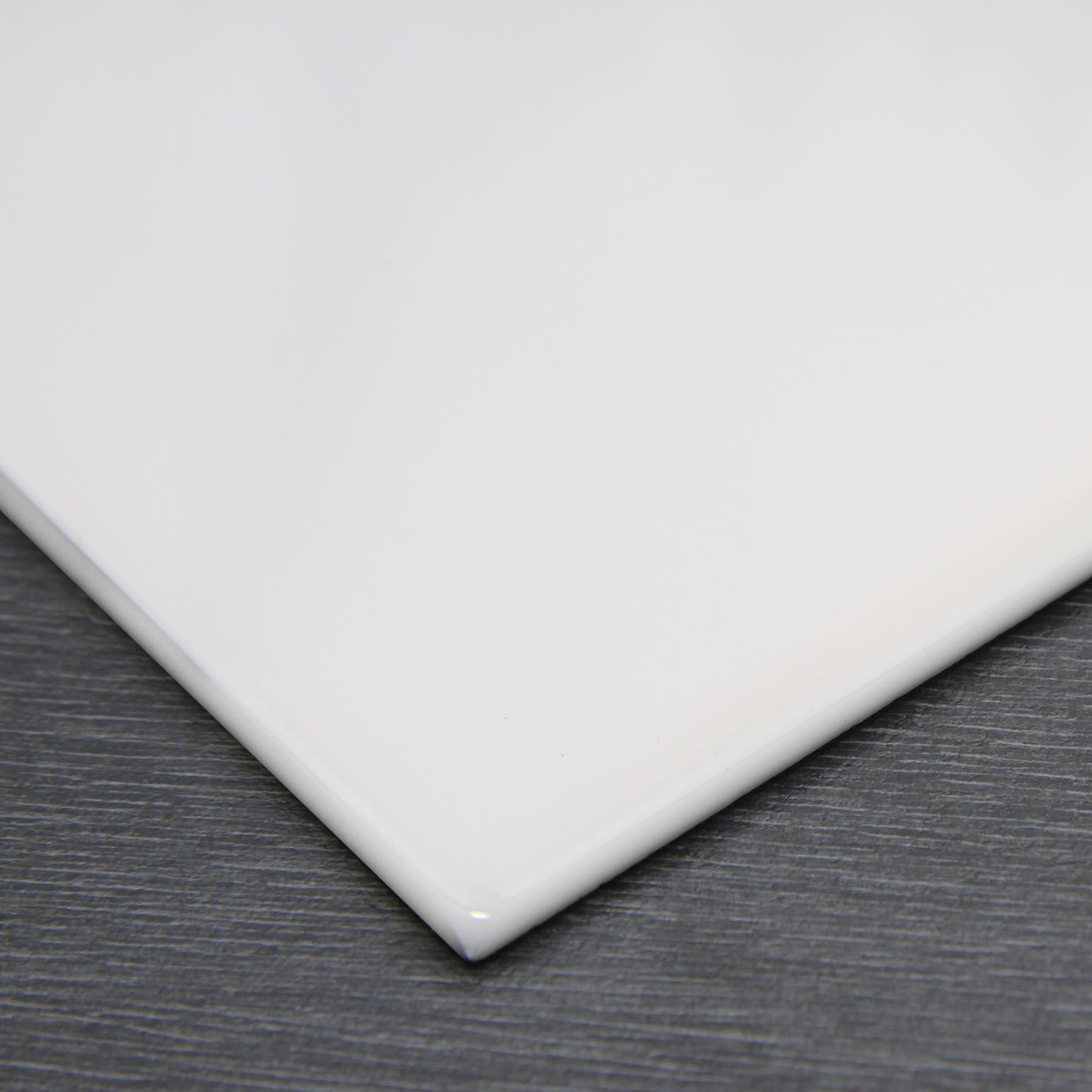 Opal white glazed ceramic gloss wall tile 152x152x55mm johnson opal white glazed ceramic gloss wall tile 152x152x55mm dailygadgetfo Gallery