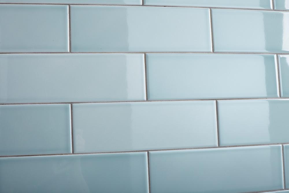 Johnson Savoy Brick Leaf Gloss Ceramic Wall Tile Uk Tile
